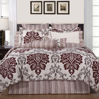 Pointehaven Luxury 8 Piece Comforter Set & Reviews